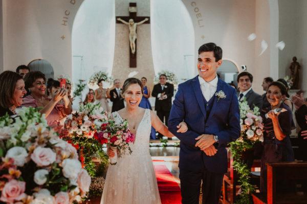 Fotografia de Casamento no Colégio Santa Marcelina no Alto da Boa Vista RJ Flávia e Igor