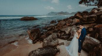 Ensaio Fotográfico Trash the Dress Grumari Rio de Janeiro Amanda e Victor